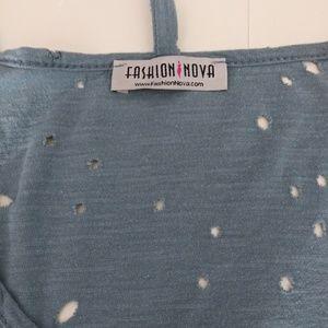 Fashion Nova Tops - Fashion Nova Tee Shirt Dress Tunic Size Large